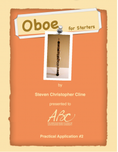 Oboe for Starters Cover
