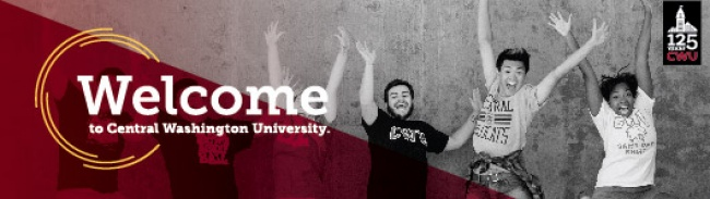 Central Washington University Header