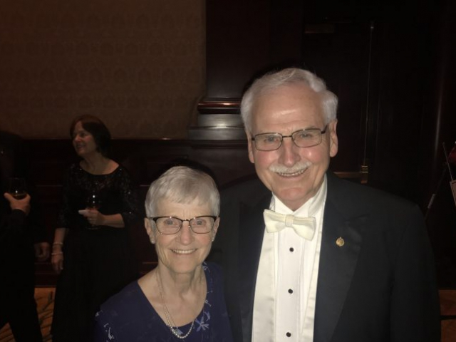 Ray & Molly Cramer looking good!