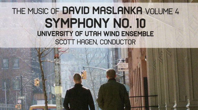 Music of David Maslanka Cover