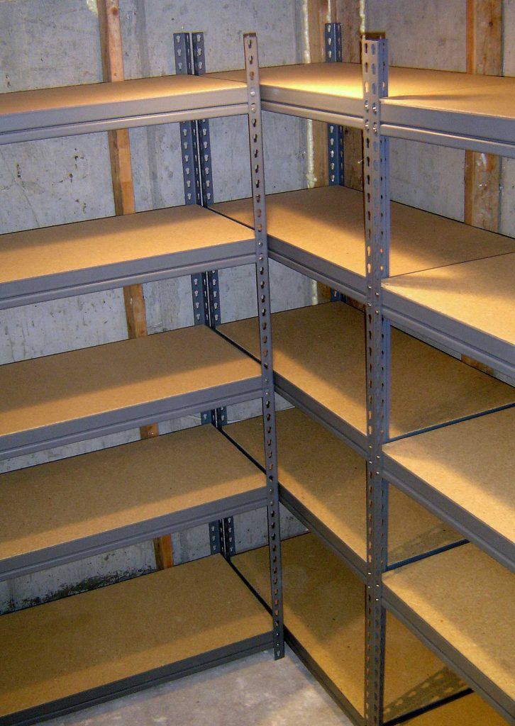 "CC license attribution: ""Food Storage Shelving"" by Jesse Michael Nix is licensed under CC BY-NC 2.0"